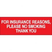 No Smoking safety sign - For Insurance 004